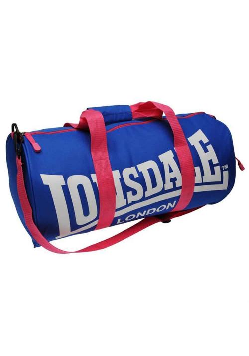 Спортивная сумка для тренировок LONSDALE BARREL BAG BLUE PINK