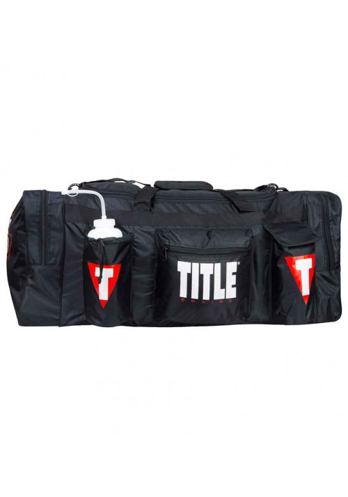 Сумка спортивная мужская TITLE SUPER HEAVYWEIGHT TEAM EQUIPMENT BAG BLACK