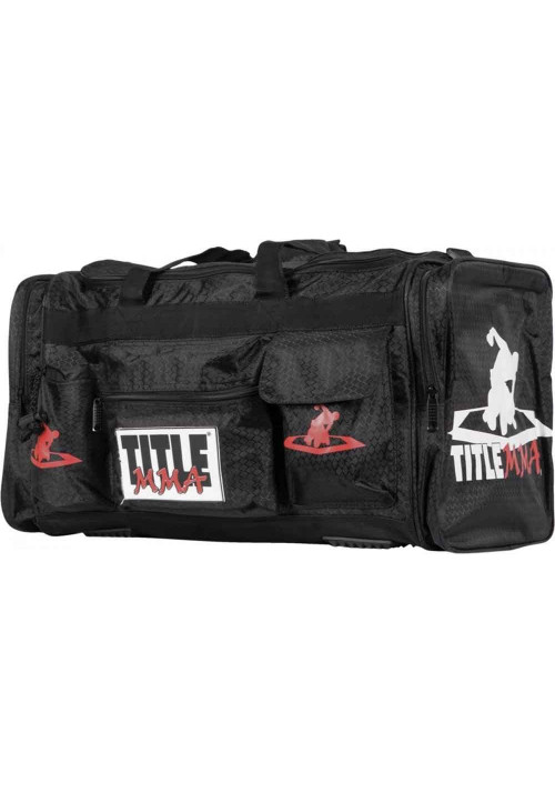 Сумка для спорта мужская TITLE MMA DELUXE EQUIPMENT BAG