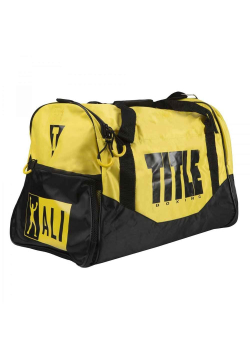 Сумка спортивная TITLE ALI PERSONAL SPORT BAG YELLOW