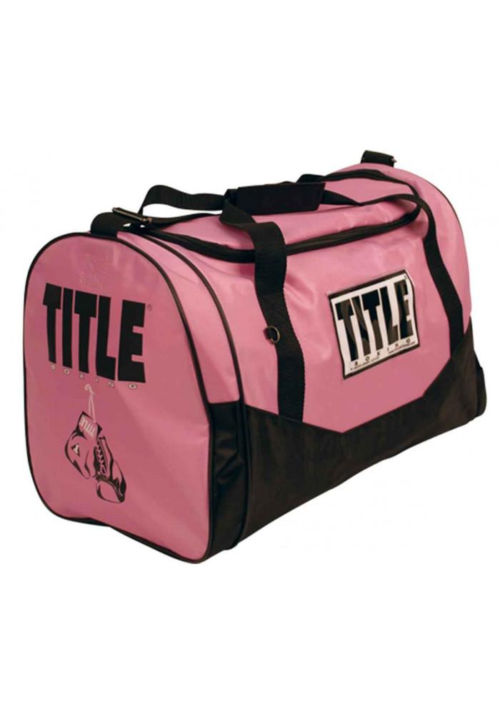 Сумка спортивная женская TITLE BOXING INDIVIDUAL SPORT BAG