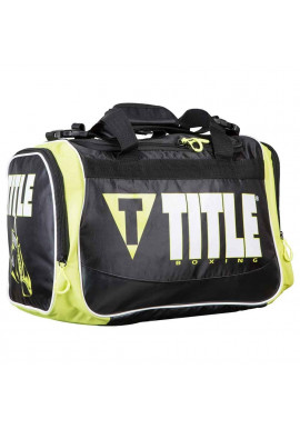 Фото Сумка спортивная TITLE IGNITE PERSONAL GEAR BAG BLACK LIME