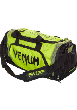 Фото Спортивная сумка VENUM TRAINER LITE SPORT BAG BLACK YELLOW