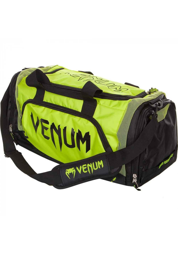 Спортивная сумка VENUM TRAINER LITE SPORT BAG BLACK YELLOW