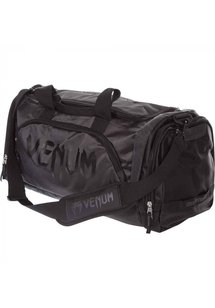 Спортивная сумка черная VENUM TRAINER LITE SPORT BAG BLACK