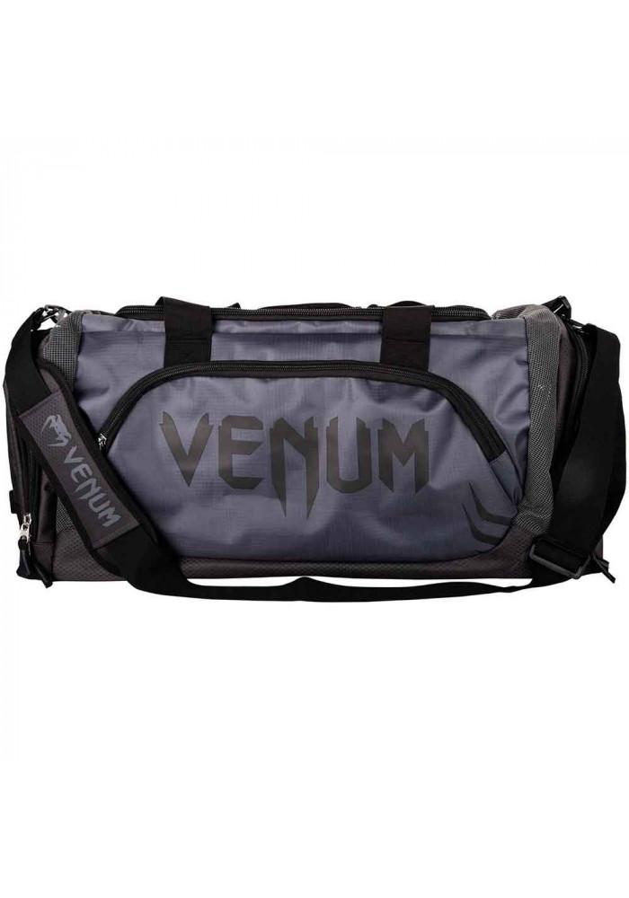 Фото Спортивная сумка черная VENUM TRAINER LITE SPORT BAG GREY BLACK
