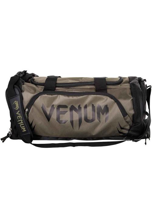 Спортивная сумка коричневая VENUM TRAINER LITE SPORT BAG BROWN