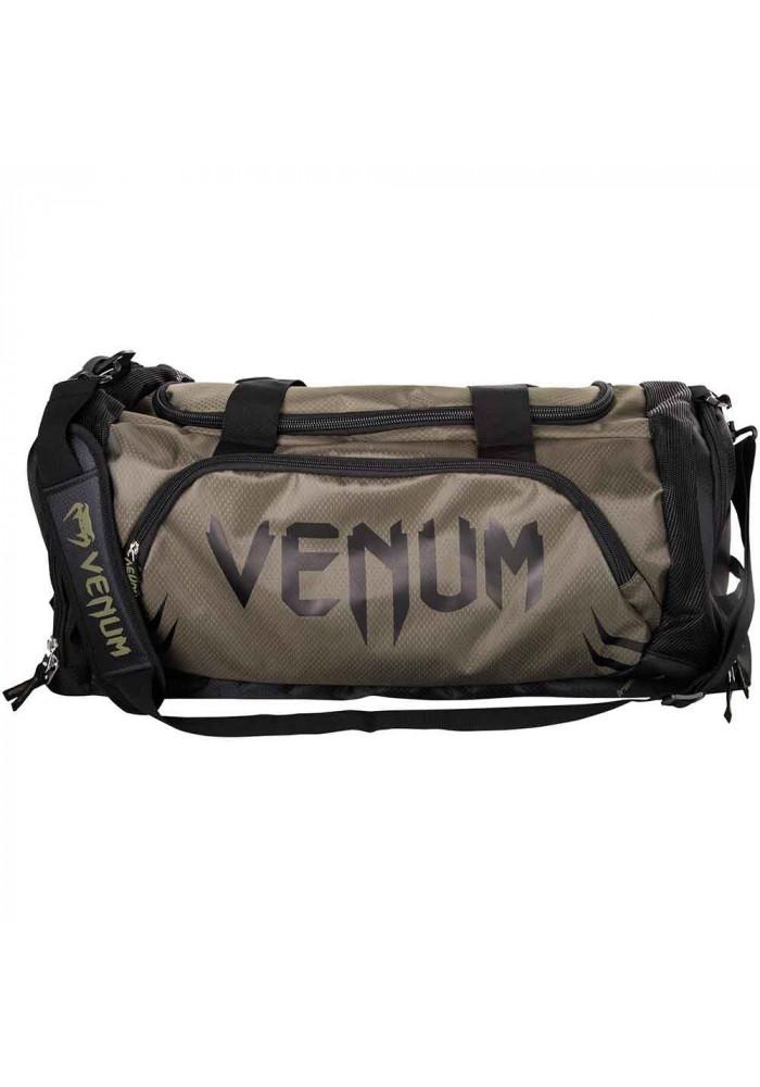 Спортивная сумка черная VENUM TRAINER LITE SPORT BAG BROWN