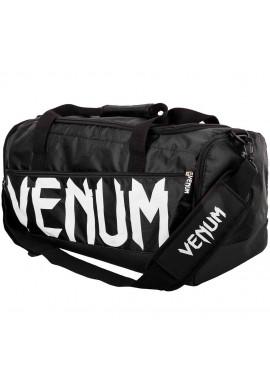 Фото Спортивная сумка для экипировки VENUM SPARRING SPORT BAG BLACK WHITE