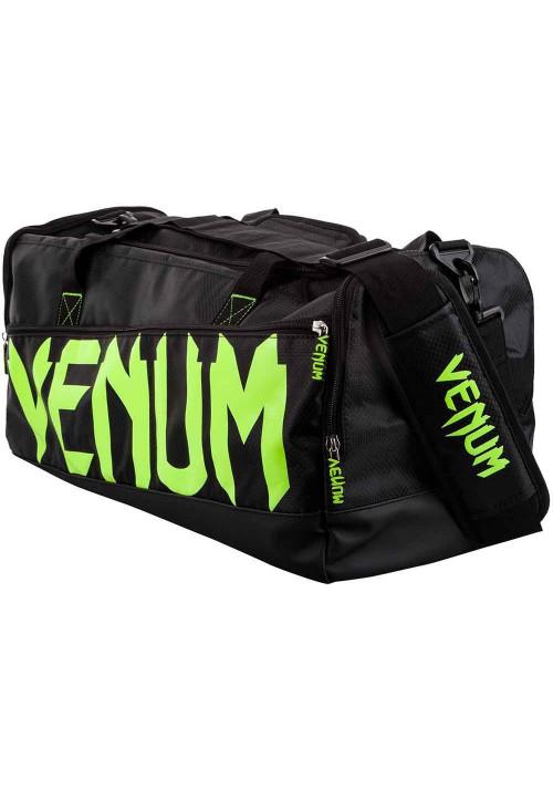Спортивная сумка для экипировки VENUM SPARRING SPORT BAG GREEN