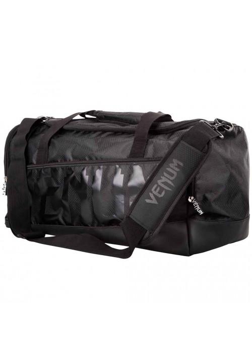 Спортивная сумка для экипировки VENUM SPARRING SPORT BAG BLACK BLACK