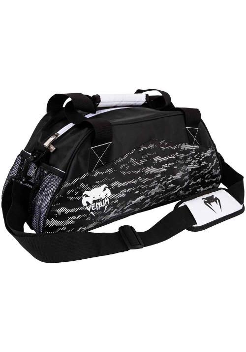 Сумка для тренажерного зала VENUM CAMOLINE SPORT BAG WHITE BLACK