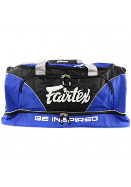 Фото Сумка спортивная FAIRTEX EQUIPMENT BAG WITHOUT ROLLER BLACK BLUE