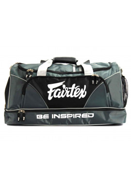 Фото Сумка спортивная FAIRTEX EQUIPMENT BAG WITHOUT ROLLER GREY BLACK