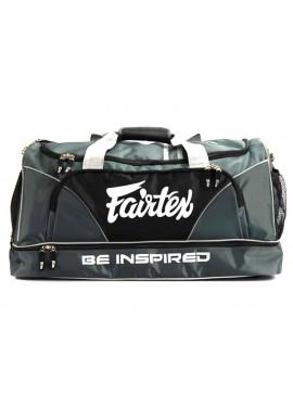 Фото Сумка спортивная FAIRTEX EQUIPMENT BAG WITHOUT ROLLER GREY BLACK
