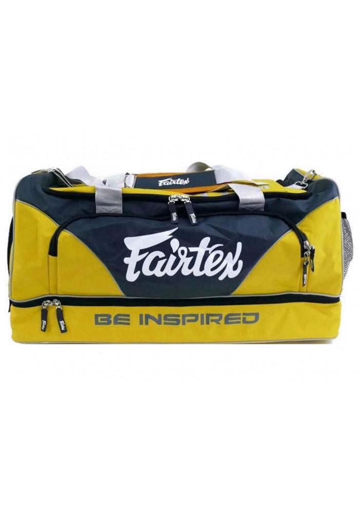 Сумка спортивная FAIRTEX EQUIPMENT BAG WITHOUT ROLLER GREY BLACK