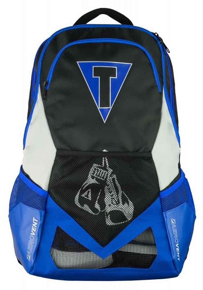 Рюкзак спортивный TITLE GEL JOURNEY BACKPACK BLACK BLUE SILVER