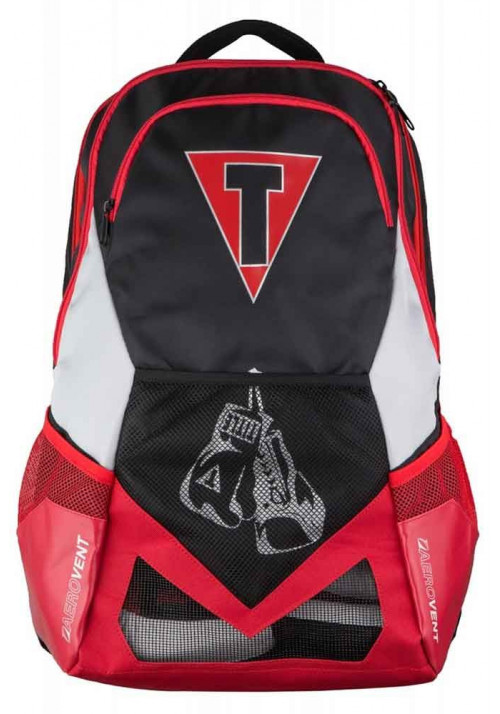 Рюкзак спортивный TITLE GEL JOURNEY BACKPACK BLACK RED SILVER