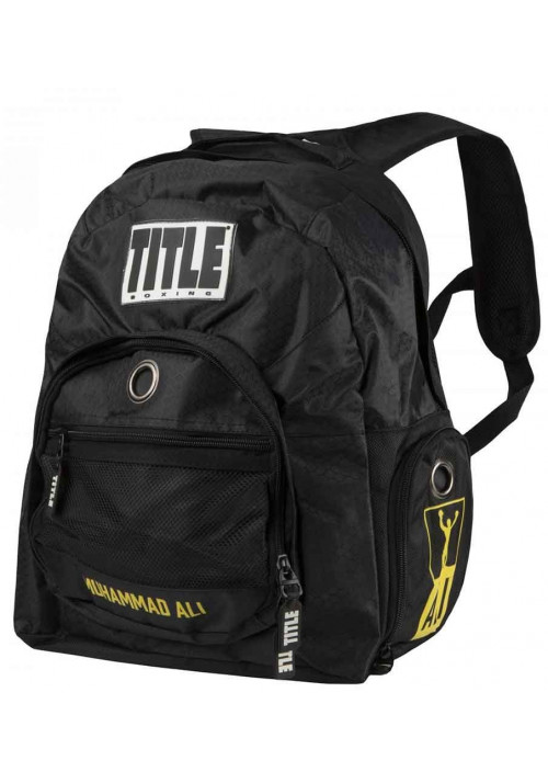 Рюкзак для спорта TITLE BOXING ALI SUPER BOXING BACK PACK