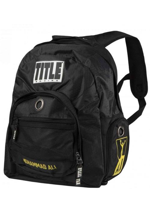 Рюкзак для спорта TITLE BOXING ALI SUPER BOXING BACK PACK