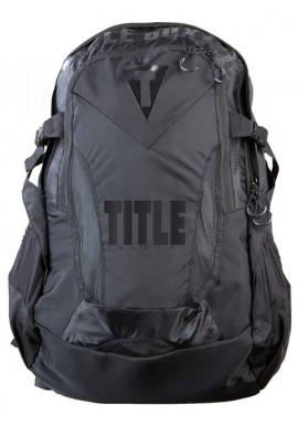 Фото Черный спортивный рюкзак TITLE BLACK BESIEGED BACK PACK