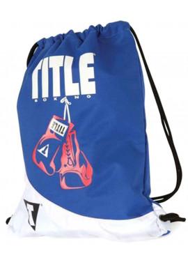 Фото Спортивный рюкзак для зала TITLE GYM SACK PACK BLUE WHITE