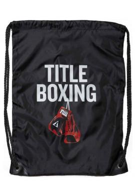 Фото Спортивный рюкзак на шнурке TITLE BOXING SACK PACKS BLACK