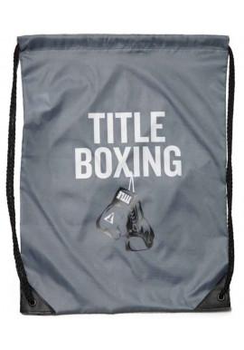 Фото Спортивный рюкзак на шнурке TITLE BOXING SACK PACKS GREY
