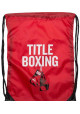 Спортивный рюкзак на шнурке TITLE BOXING SACK PACKS RED