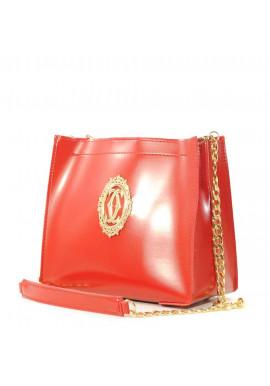 Фото Женская сумочка-клатч Betty Pretty красная глянцевая