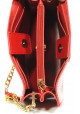 Женская сумочка-клатч Betty Pretty красная глянцевая, фото №7 - интернет магазин stunner.com.ua
