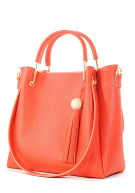 Фото Красная женская сумка из экокожи Betty Pretty