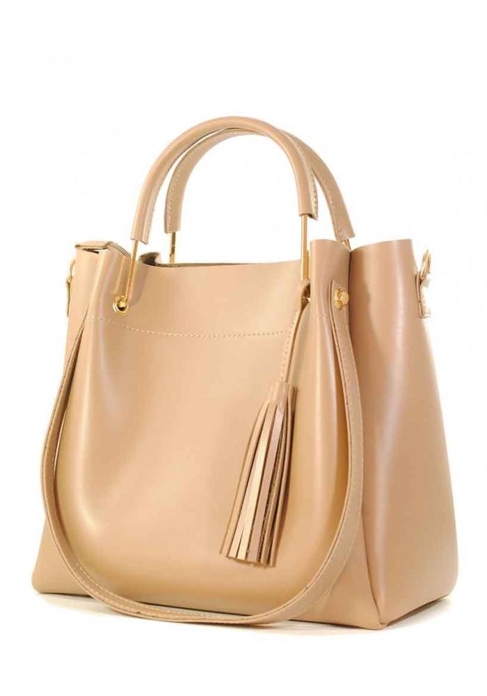 Светлая женская сумка Betty Pretty