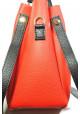 Красная женская сумка с черной кисточкой Betty Pretty, фото №6 - интернет магазин stunner.com.ua