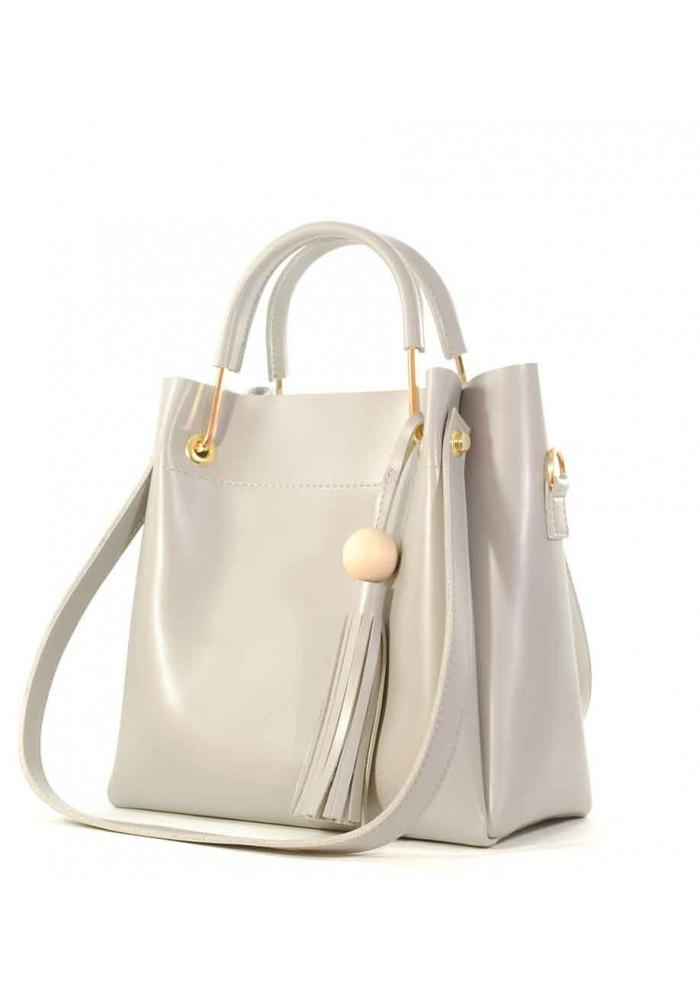 Гламурная светло-серая женская сумкочка Betty Pretty