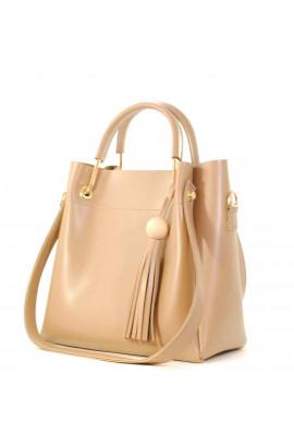 Фото Оригинальная светлая женская сумкочка Betty Pretty