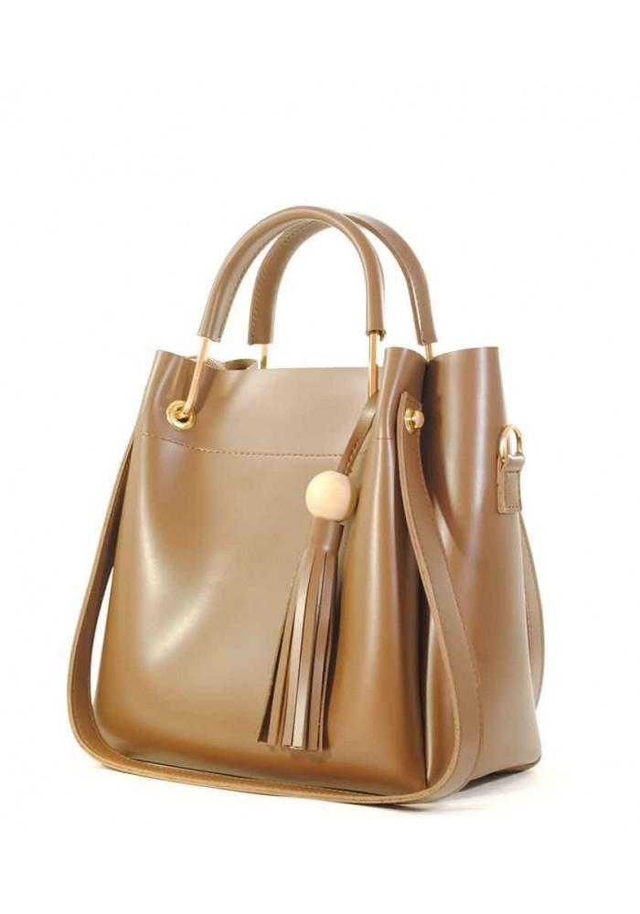 Женская сумка из гладкой экокожи Betty Pretty