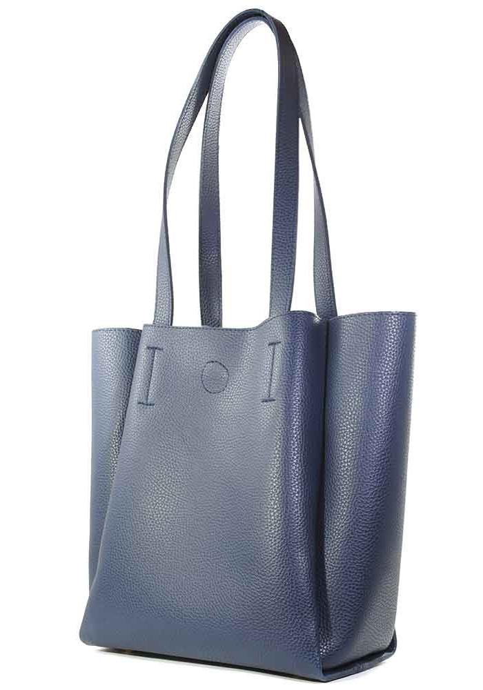 Женская сумка из синей экокожи Betty Pretty