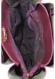 Женская сумка бордового цвета Betty Pretty, фото №6 - интернет магазин stunner.com.ua