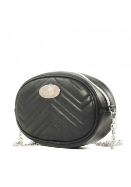 Фото Женская сумка на пояс Betty Pretty черная