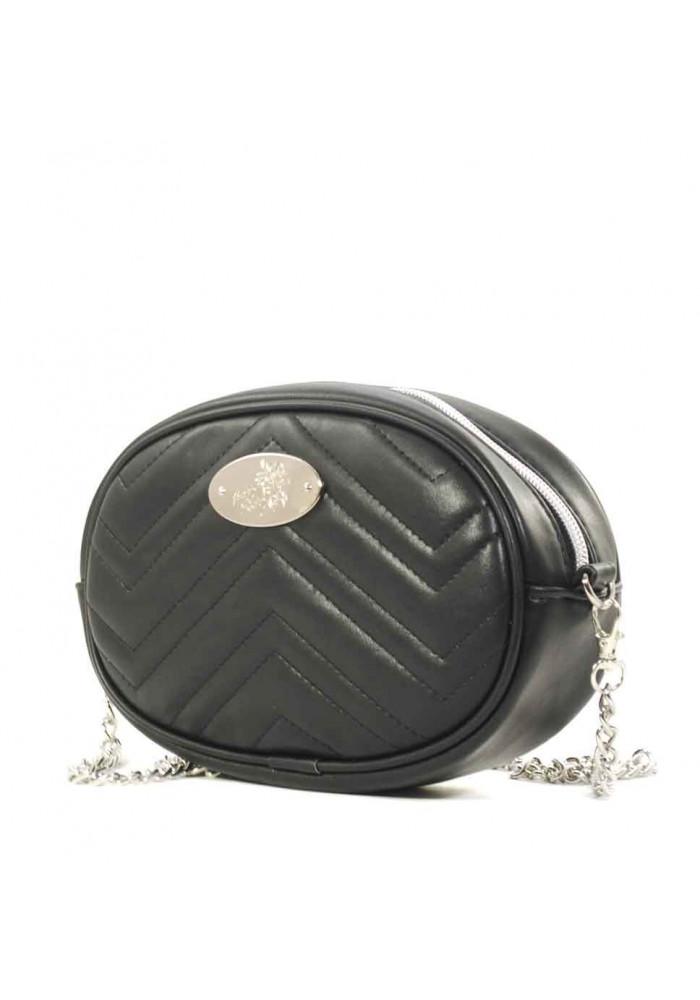 Женская сумка на пояс Betty Pretty черная