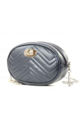 Фото Поясная женская сумка Betty Pretty синий перламутр