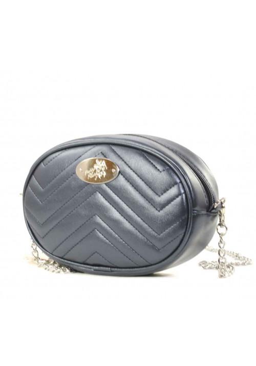 Поясная женская сумка Betty Pretty синий перламутр