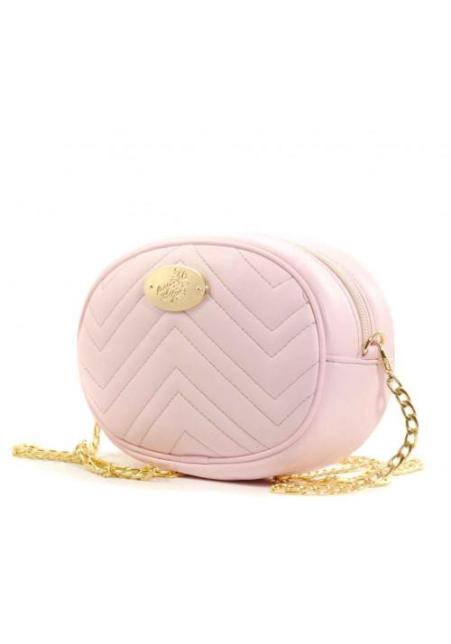 Розовая женская поясная сумка Betty Pretty