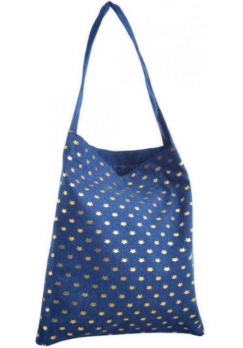 Легкая джинсовая женская сумка YES Shopper Sheeny