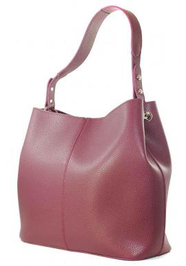 Фото Женская мягкая сумка бордо Betty Pretty