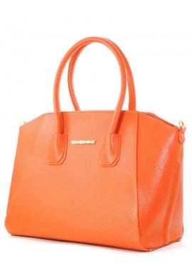 Фото Оранжево-красная яркая женская сумка Betty Pretty