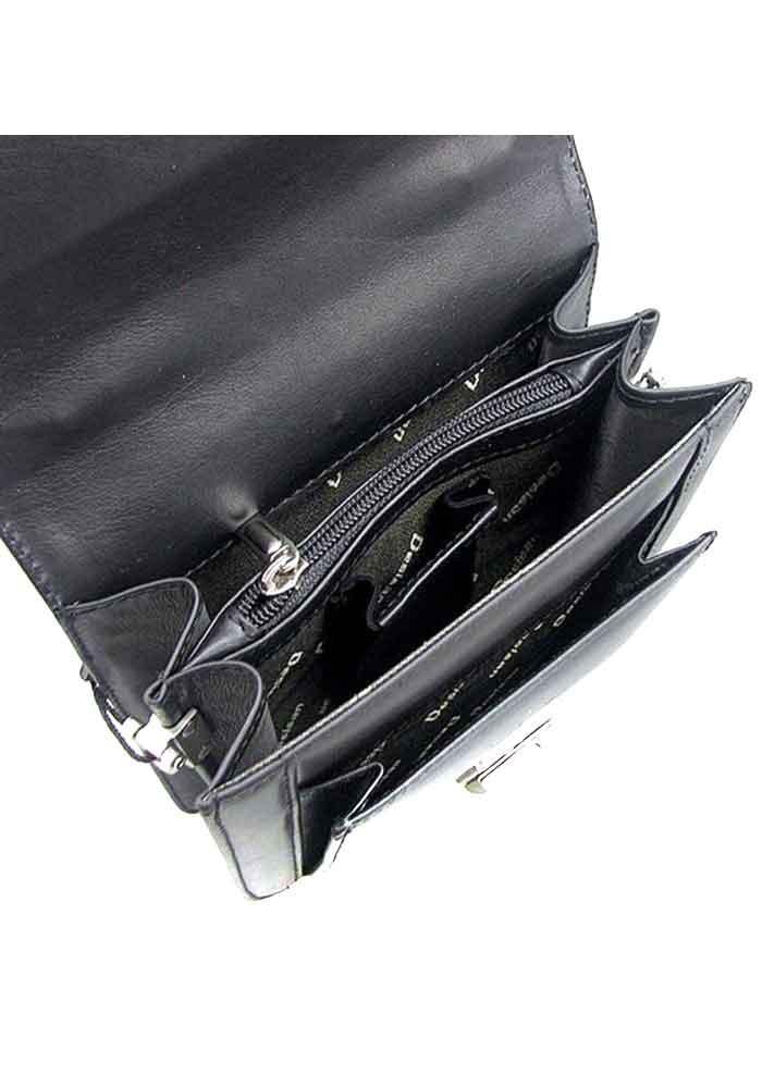 869a2382baca ... Вертикальная черная мужская барсетка Desisan 244-1, фото №3 - интернет  магазин stunner ...