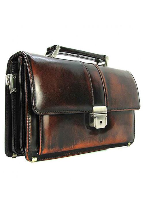 Классическая мужская винтажная барсетка Desisan 523-0