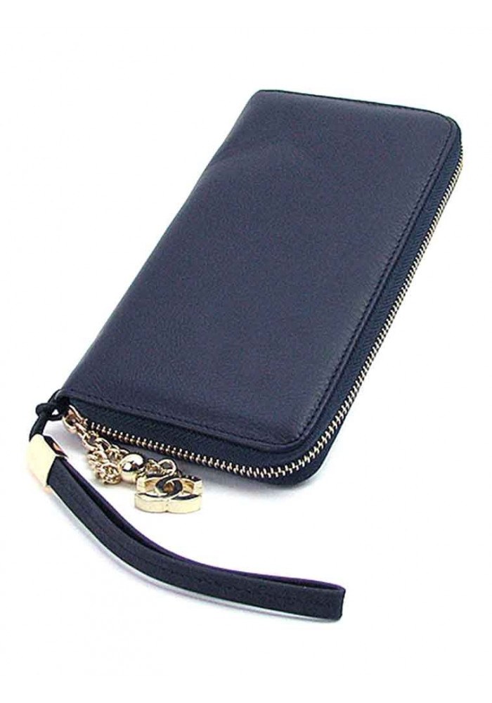 274c30d88411 ... Синий кошелек из кожи для девушки CH 6020, фото №2 - интернет магазин  stunner ...